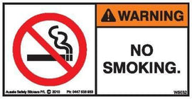 NO SMOKING (Horizontal)