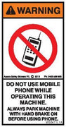 DO NOT USE MOBILE PHONE (Vertical)