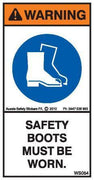 SAFETY BOOTS (Vertical)
