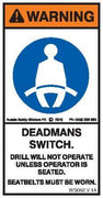 DEAD MAN SWITCH (Vertical)