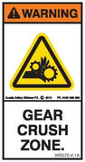 GEAR CRUSH ZONE (Vertical)