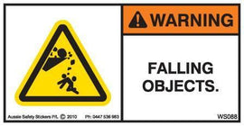FALLING OBJECTS (Horizontal)