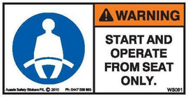 OPERATE SEATED (Horizontal)