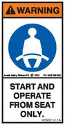OPERATE SEATED (Vertical)
