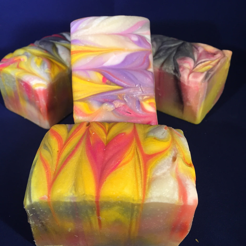 Rainbow Swirl Soap