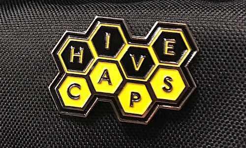 NEW Hive Caps™ Pin