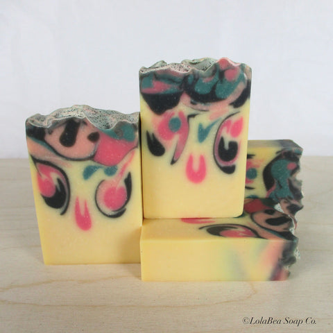 Black Raspberry Vanilla Milk Soap