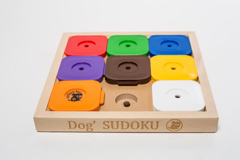 Dog' Sudoku Medium Expert - Rainbow