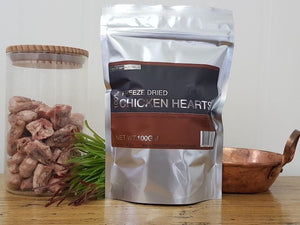 Freeze Dry Australia Chicken Hearts