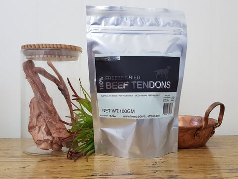 Freeze Dry Australia Beef Tendons