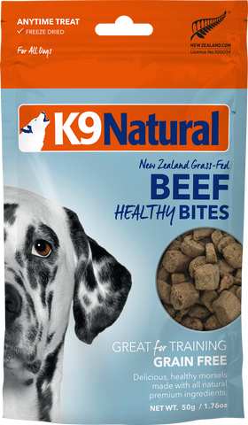 Beef Healthy Bites - K9 Natural