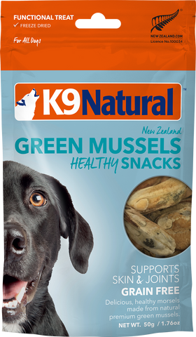 Green Mussels Healthy Snacks - K9 Natural