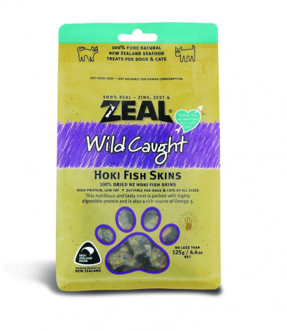 Zeal - Wild Caught Hoki Fish Skins