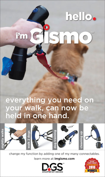 i'm Gismo - Starter Kit (Handle and Poop Bag Dispenser)