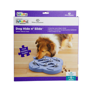 Dog Hide N Slide - Purple by Nina Ottosson