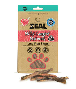 Zeal Wild Caught Naturals Ling Fish Skins