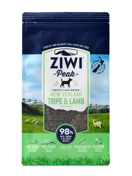 Ziwi Peak - Air Dried Tripe and Lamb