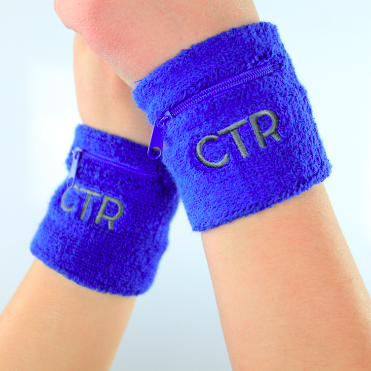 CTR Zipper Wristband