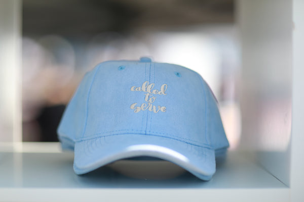 Called To Serve Hat - Blue