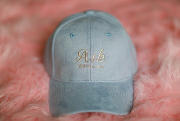 Ask- Young Women's 2017 Blue Annual Theme Hat
