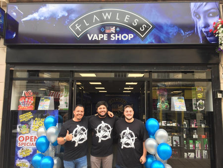 Flawless Vape Shop Loughborough is open for business!