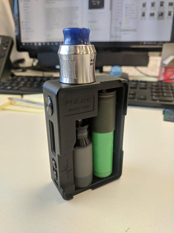 Bottom fed RDA on a Squonk Mod
