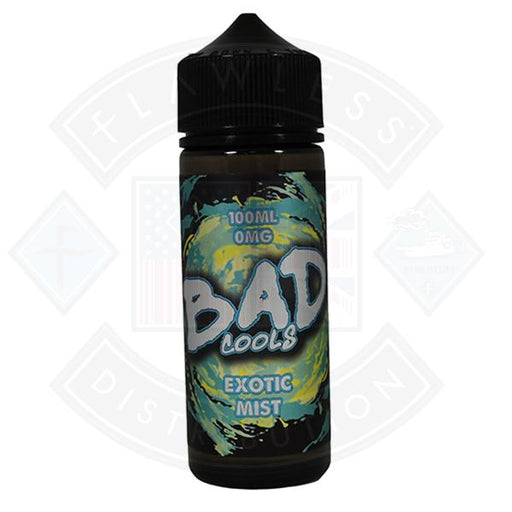 Bad Cools Exotic Mist 0mg 100ml Shortfill E-Liquid