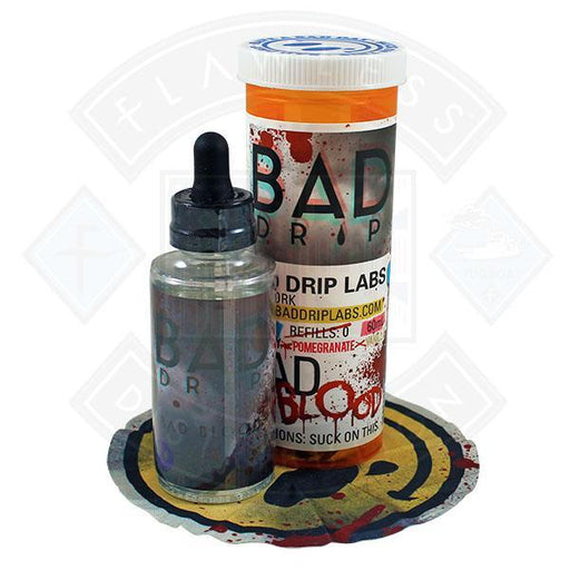 Bad Drip Bad Blood 50ml 0mg Shortfill E-liquid