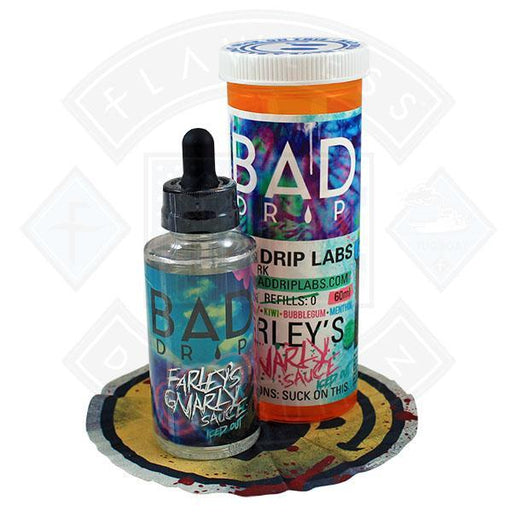 Bad Drip Farley's Gnarly Sauce Iced Out 50ml 0mg Shortfill E-liquid