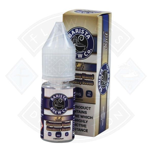 Barista Brew Co. Salt Cinnamon Glazed Blueberry Scone 10ml