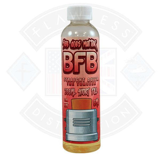 BFB - Straight Outta the Toaster 0mg 200ml Shortfill E-Liquid