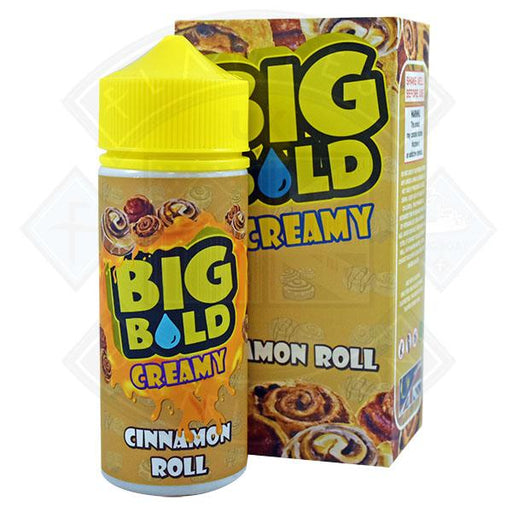 Big Bold Creamy - Cinnamon Roll 0mg 100ml Shortfill