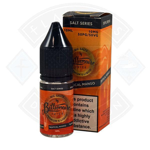 Billionaire Juice Nic Salt - Tropical Mango 10ml