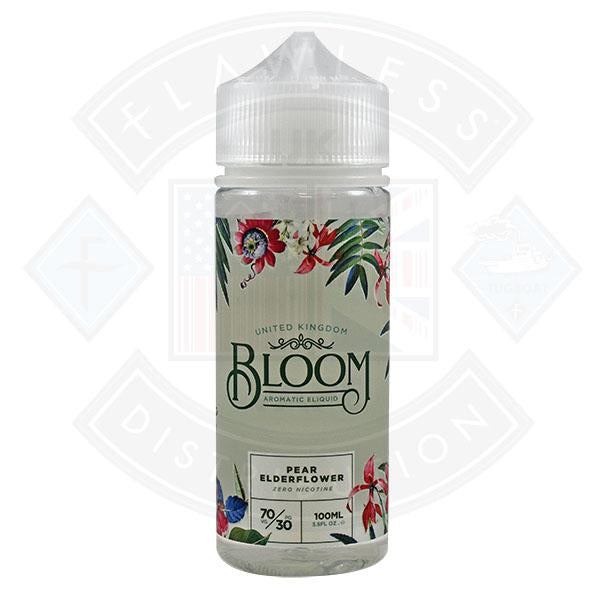 Bloom Pear Elderflower 0mg 100ml Shortfill E-Liquid