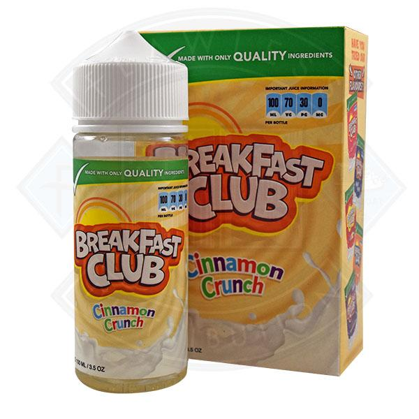 Breakfast Club - Cinnamon Crunch 0mg 100ml Shortfill
