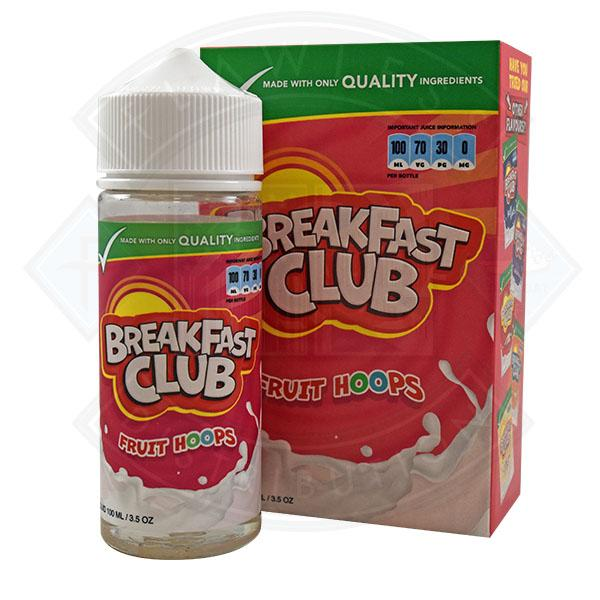 Breakfast Club - Fruit Hoops 0mg 100ml Shortfill
