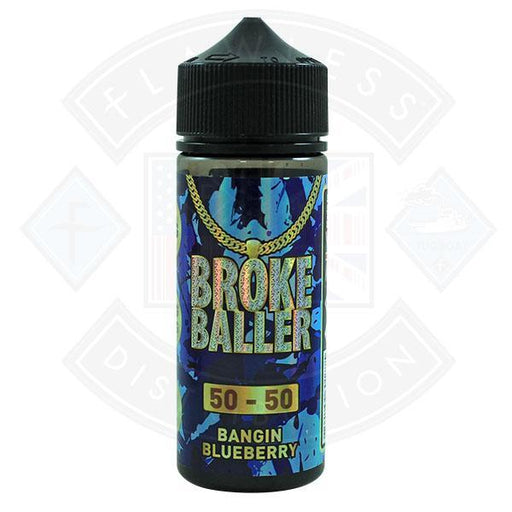 Broke Baller Bangin Blueberry 0mg 80ml Shortfill E-Liquid