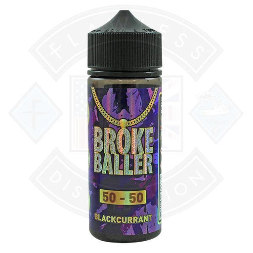 Broke Baller Blackcurrant 0mg 80ml Shortfill E-Liquid