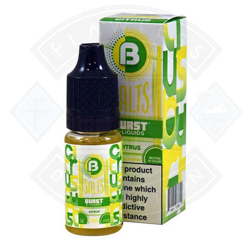 Burst Salts - Citrus 10ml