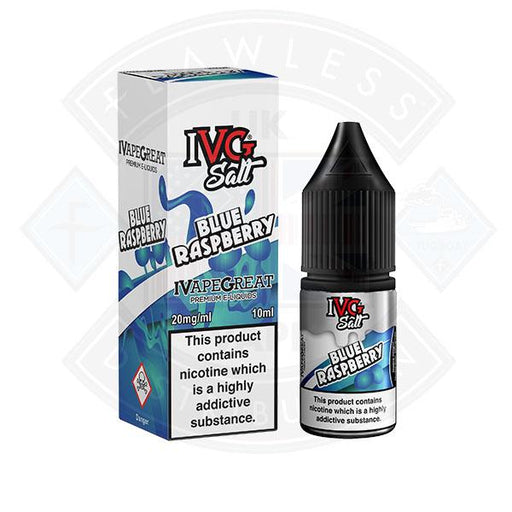 I VG Salt Blue Raspberry 20mg 10ml TPD Compliant e-liquid