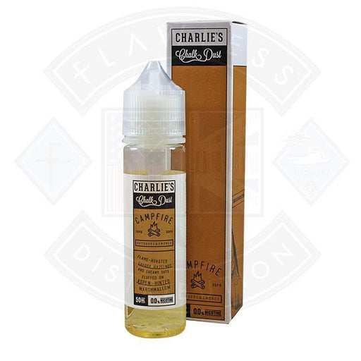 Charlie's Chalkdust Campfire 50ml 0mg shortfill e-liquid