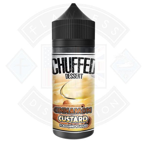 Chuffed Dessert - Cinnamon Custard 0mg 100ml Shortfill E-Liquid