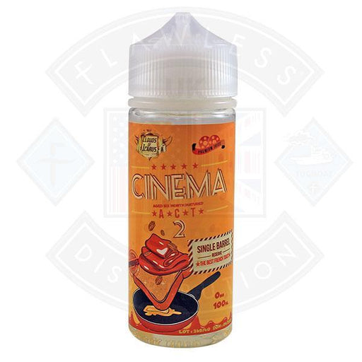 Clouds of Icarus Cinema Act 2 The Best French Toast 0mg 100ml Shortfill