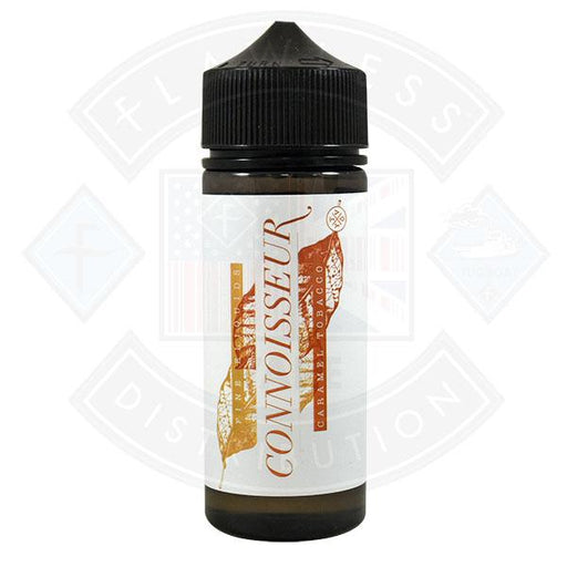 Connoisseur - Caramel Tobacco 0mg 100ml Shortfill