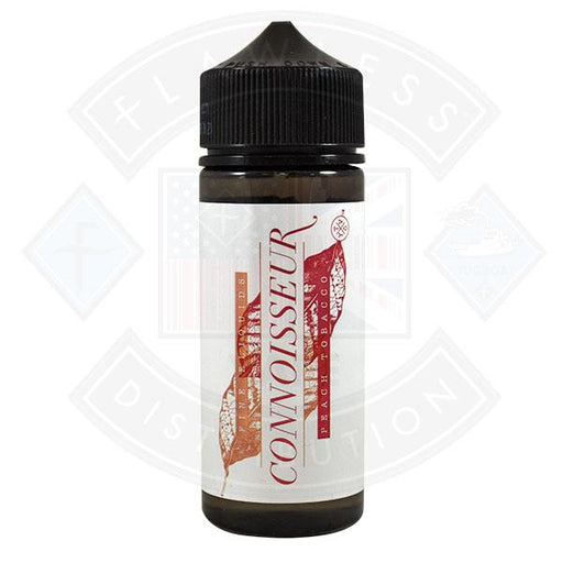 Connoisseur - Peach Tobacco 0mg 100ml Shortfill