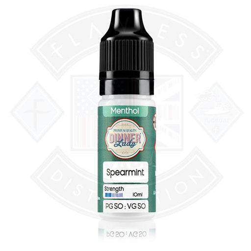 Dinner Lady Menthol 50/50 Spearmint 10ml