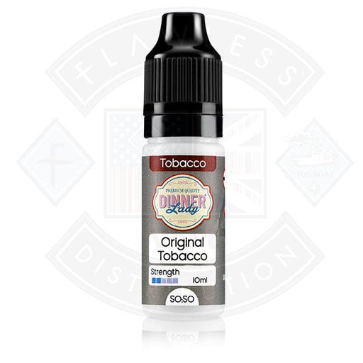 Dinner Lady Tobacco 50/50 Straight Tobacco 10ml