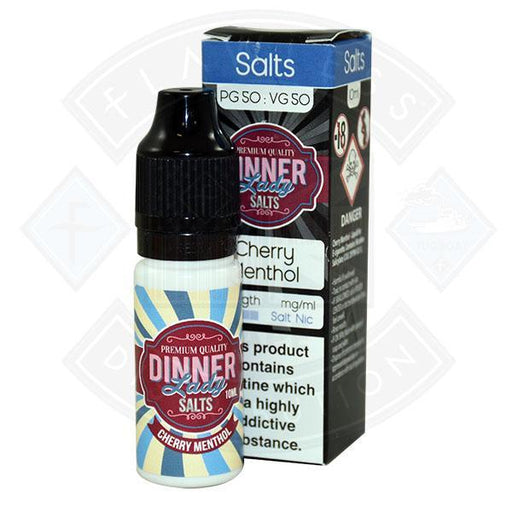 Dinner Lady Cherry Menthol Nic Salt 10ml 10mg E-liquid