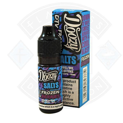 Doozy Salts Frozen Berries 50/50 10mg 10ml e-liquid