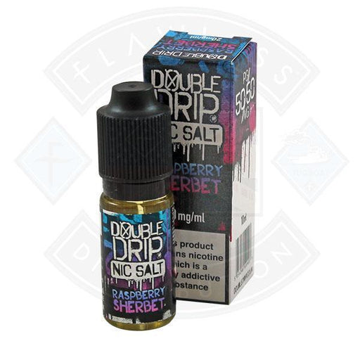 Vapouriz Double Drip Nic Salt Raspberry Sherbet 10ml E-liquid